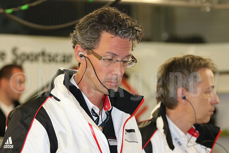 DR FRANK STEFFEN WALLISER (DEU) HEAD OF PORSCHE MOTORSPORT