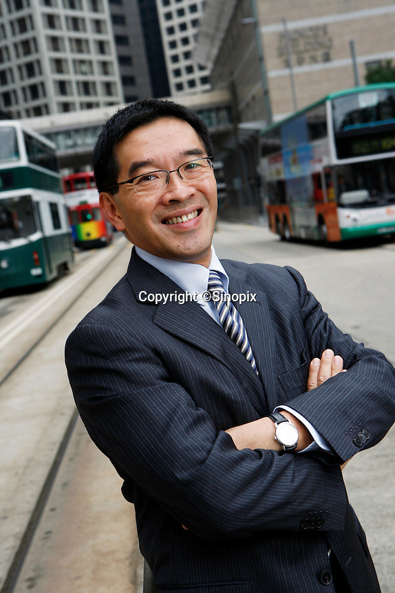 HONG KONG, CHINA-NOVEMBER 08: Carlson Tong pictured in Central, Hong Kong.