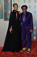 LONDON, UK - FEBRUARY 10:  Spike Lee, Tonya Lewis Lee at the 72nd British Academy Film Awards held at Albert Hall on February 10, 2019 in London, United Kingdom. <br /> CAP/MPI/IS<br /> ©IS/MPI/Capital Pictures