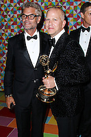 WEST HOLLYWOOD, CA, USA - AUGUST 25: Harry Hamlin, Ryan Murphy at HBO's 66th Annual Primetime Emmy Awards After Party held at the Pacific Design Center on August 25, 2014 in West Hollywood, California, United States. (Photo by Xavier Collin/Celebrity Monitor)