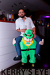 Ricardo Gordillo got a helping hand from his little green friend on Sunday evening at Benners Hotel's Boos and Booze Halloween Party in association with Gordons Pink Gin.