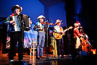 Riders in the Sky performing at The Sheldon Concert Hall in Saint Louis on Dec 5, 2008.
