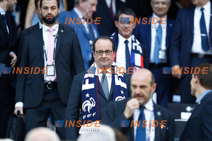 Francois Hollande<br /> Marseilles 07-07-2016 Stade Velodrome Football Euro2016 Germany - France / Germania - Francia Semi-finals / Semifinali <br /> Foto Matteo Ciambelli / Insidefoto