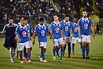 Deportes Tolima Derrotó 1-0 a Millonarios en el partido correspondiente a la fecha 18 del Torneo Clausura 2014, desarrollado el 09 de noviembre.