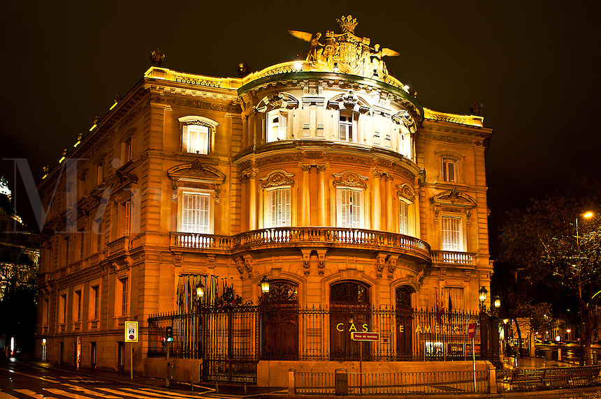 Casa de América museum and cultural centre for the promotion of Latin American arts, Madrid, Spain