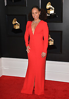 LOS ANGELES, CA - FEBRUARY 10: Alicia Keys at the 61st Annual Grammy Awards at the Staples Center in Los Angeles, California on February 10, 2019. Credit: Faye Sadou/MediaPunch