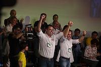 SÃO PAULO, SP, 24.07.2016 - ELEIÇÕES-SP - Bruno Covas e Joao Doria durante convenção municipal do partido na cidade de São Paulo na Fecomercio no centro da cidade de São Paulo neste domingo, 24. A aliança partidária do PSDB para as eleições municipais em São Paulo conta com o apoio de dez partidos. PSB, PPS, PHS, PMB e DEM. (Foto: Ciça Neder/Brazil Photo Press)