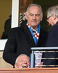 Walter Smith laughing with Charles Green behind