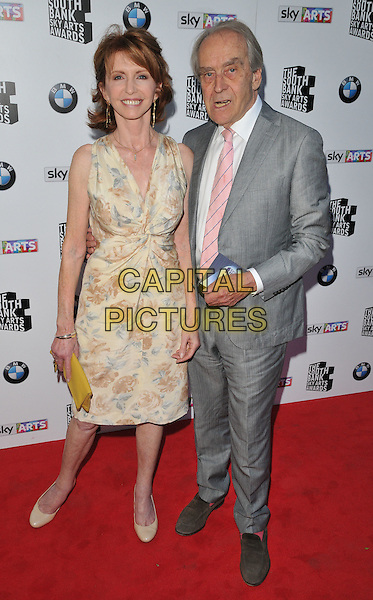LONDON, ENGLAND - JUNE 07: Jane Asher &amp; Gerald Scarfe attend the South Bank Sky Arts Awards 2015, The Savoy Hotel, The Strand, on Sunday June 07, 2015 in London, England, UK. <br /> CAP/CAN<br /> &copy;CAN/Capital Pictures