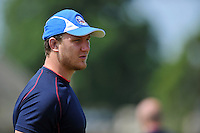 Nick Koster looks on. Bath Rugby pre-season training session on July 16, 2013 at Farleigh House in Bath, England. Photo by: Patrick Khachfe/Onside Images