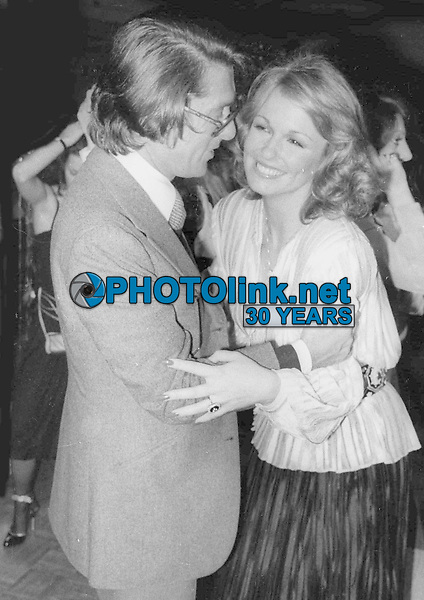 Robert Evans Phyllis George1006.JPG<br /> 1978 FILE PHOTO<br /> New York, NY<br /> Robert Evans Phyllis George/Studio 54<br /> Photo by Adam Scull-PHOTOlink.net<br /> ONE TIME REPRODUCTION RIGHTS ONLY<br /> 917-754-8588 - eMail: adam@photolink.net<br /> Facebook: https://www.facebook.com/adam.scull.94