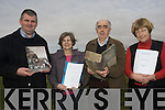 The newly formed Iveragh Local Studies group Iveragh Heritage or Oidhreacht Uibh Rathaigh hopes to bring like-minded people in the local region together to look at the history and culture of the Iveragh Peninsula.L-R Peter Mullarkey, Sheila Burns, Chairperson Tom Horgan and Barbara O'Shea