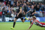 Saracens' Chris Wyles scoring his side's 1st try - Rugby Union - 2014 / 2015 Aviva Premiership - Saracens vs. Gloucester - Allianz Park Stadium - London - 11/10/2014 - Pic Charlie Forgham-Bailey/Sportimage