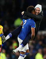 29th October 2019; Goodison Park, Liverpool, Merseyside, England; English Football League Cup, Carabao Cup Football, Everton versus Watford;  - Strictly Editorial Use Only. No use with unauthorized audio, video, data, fixture lists, club/league logos or 'live' services. Online in-match use limited to 120 images, no video emulation. No use in betting, games or single club/league/player publications