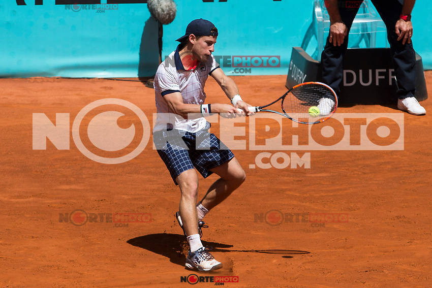 Diego Schwartzman during the Mutua Madrid Open Tennis 2017 at Caja Magica in Madrid, May 10, 2017. Spain. /NortePhoto.com **NortePhoto.com