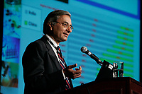 Somesh Sharma, Chief Scientific Officer, Nicholas Piramal India Limited, India.<br /> <br /> at Biomedex conference in Montreal, Canada in May 2006<br /> <br /> <br /> photo : (c)  Images Distribution