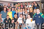 5595-5598.---------.Twenty One.----------.Liam Robbins(seated centre)from Cahermoneen,Tralee,celebrated with family&friends for his 21st birthday,in the AbbeyInn Tralee last Saturday night.