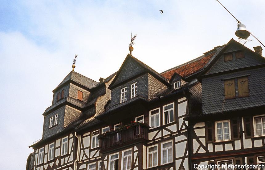 Butzbach: Marketplatz skyline.