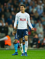 Tottenham's Dele Alli during the EPL - Premier League match between Tottenham Hotspur and Newcastle United at Wembley Stadium, London, England on 9 May 2018. Photo by Andrew Aleksiejczuk / PRiME Media Images.