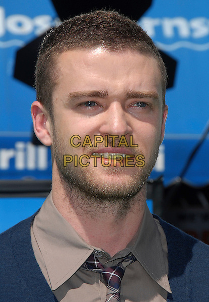 "JUSTIN TIMBERLAKE.attends The Dreamworks L.A. Premiere of ""Shrek The Third"" held at The Mann Village Theatre in Westwood, California, USA, May 06 2007..portrait headshot cardigan tie shirt brown blue .CAP/DVS.©Debbie VanStory/Capital Pictures"