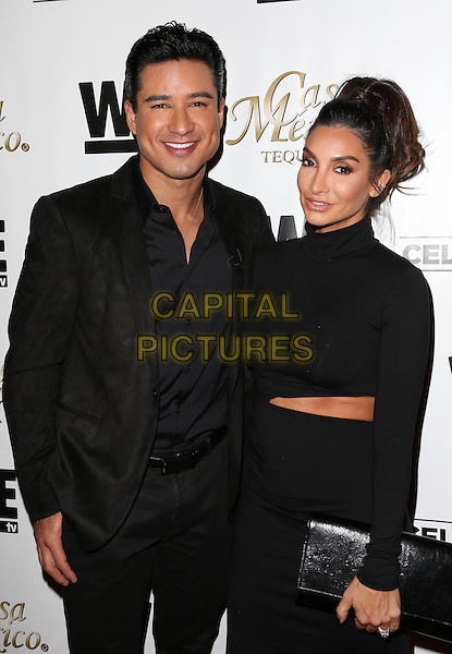 Hollywood, CA - November 06 Mario Lopez, Courtney Mazza Attending Mario Lopez Introduces Casa Mexico Tequila On WE tv's David Tutera CELEBrations At Beso On November 06, 2015. <br /> CAP/MPI/FS<br /> &copy;FS/MPI/Capital Pictures