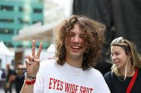 NOVA YORK (EUA) 01.09.2019 - BRAZILIAN-DAY - Lucas Jagger durante Brazilian Day na cidade de Nova York neste domingo, 01. (Foto: Vanessa Carvalho/Brazil Photo Press)