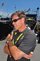 May 30, 2008; Dover, DE, USA; Nascar Sprint Cup Series team owner Ray Evernham during qualifying for the Best Buy 400 at the Dover International Speedway. Mandatory Credit: Mark J. Rebilas-