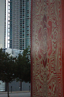 Graffiti by OBEY in wynwood miami