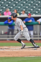 Jackson Generals left fielder Patrick Brady (11) swings at a pitch during a game against the Tennessee Smokies at Smokies Stadium on July 5, 2016 in Kodak, Tennessee. The Generals defeated the Smokies 6-4. (Tony Farlow/Four Seam Images)