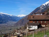 Ortsteil Vellau, Algund-Lagundo, Provinz Bozen – Südtirol, ItalienDistrict Vella, Algund-Lagundo, province Bozen-South Tyrol, Italy
