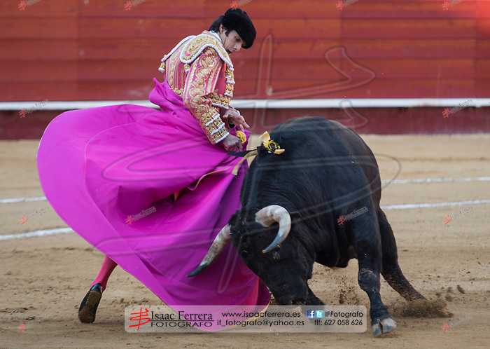 Feria de Fallas 2017.<br /> Corrida de Toros.<br /> Sebastian Castella - Miguel Angel Perera - Roman.<br /> Toros de Victoriano del Rio.<br /> Valencia, Valencia (Spain).<br /> 16 de marzo de 2017.