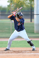 Jesus Aguilar - AZL Indians - 2010 Arizona League.Photo by:  Bill Mitchell/Four Seam Images..