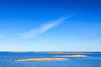 Biskopsö, Finnskär, hav, himmel, horisont, moln, skär, skärgården, Stockholms skärgård, Svartskär, ytterskärgård