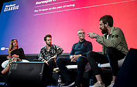 "Sir Bradley Wiggins interviewed on stage<br /> <br /> Rouleur Classic London 2019<br /> ""The World's Finest Road Cycling Exhibition""<br /> <br /> ©kramon"