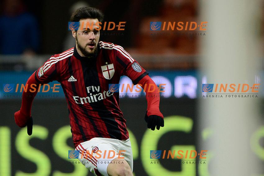 Mattia Destro Milan<br /> Milano 01-02-2015 Stadio Giuseppe Meazza - Football Calcio Serie A Milan - Parma. Foto Giuseppe Celeste / Insidefoto