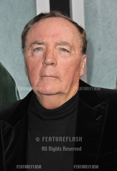 "Writer James Patterson at the Los Angeles premiere of his movie ""Alex Cross"" at the Cinerama Dome, Hollywood..October 15, 2012  Los Angeles, CA.Picture: Paul Smith / Featureflash"