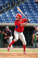 Philadelphia Phillies Zach Coppola (16) during an instructional league game against the New York Yankees on September 29, 2015 at Brighthouse Field in Clearwater, Florida.  (Mike Janes/Four Seam Images)