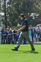 Phil Mickelson (USA) gives a thumbs up to the crowd in response to their cheers as he departs the 2nd tee during round 3 of the World Golf Championships, Mexico, Club De Golf Chapultepec, Mexico City, Mexico. 3/3/2018.<br /> Picture: Golffile | Ken Murray<br /> <br /> <br /> All photo usage must carry mandatory copyright credit (&copy; Golffile | Ken Murray)