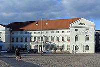 Rathaus von 1819 in Wismar, Mecklenburg-Vorpommern, Deutschland, UNESCO-Weltkulturerbe