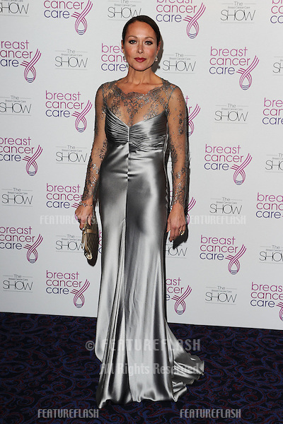Amanda Mealing arriving for the Breast Cancer Care Fashion Show, Grosvenor House Hotel, London. 02/10/2012 Picture by: Steve Vas / Featureflash