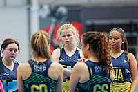 Cardiff and Vale College netball team at Cardiff, Wales, UK. Monday 30 April 2018
