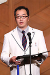 Satoru Sudo (JPN), MARCH 19, 2018 : Pyeongchang 2018 Winter Paralympics Japan Delegation disbandment ceremony in Tokyo, Japan. (Photo by Naoki Nishimura/AFLO SPORT)