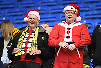 Burton Albion fans in the christmas spirit prior to the Sky Bet Championship match between Reading and Burton Albion at the Madejski Stadium, Reading, England on 23 December 2017. Photo by Paul Paxford.