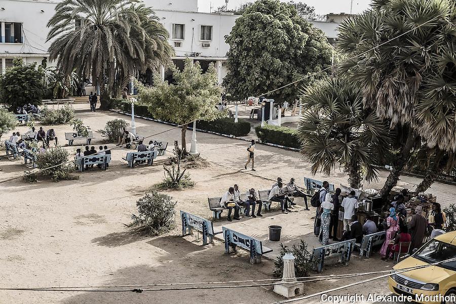 Faculté de droit de l'Université de Dakar, Sénégal.