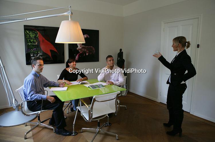 Foto: VidiPhoto..Portret van Anne-Marie Rakorst van Search Milieu BV.