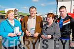 Listowel Races on Saturday: Attending Listowel races on Saturday last were Marie Whelan & Gerald, Marie & Brian O'Sullivan, Finuge.