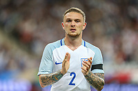 Kieran Trippier (Tottenham Hotspur) of England plays 75 minutes for his starting his first match during the International Friendly match between France and England at Stade de France, Paris, France on 13 June 2017. Photo by David Horn/PRiME Media Images.