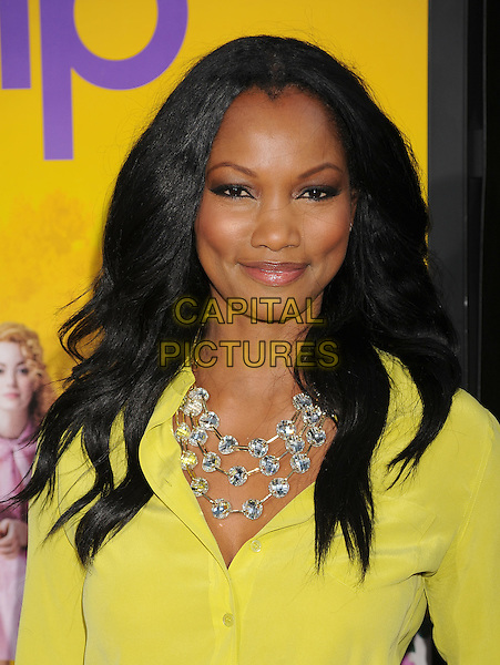 "Garcelle Beauvais.arriving at the Los Angeles Premiere of ""The Help"" at the Samuel Goldwyn Theater inside the Academy of Motion Picture Arts and Sciences in Beverly Hills, California, USA, August 9th 2011..portrait headshot  necklace  yellow blouse shirt .CAP/ROT/TM.©TM/Roth Stock/Capital Pictures"