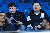Swansea supporters during the Sky Bet Championship match between Sheffield Wednesday and Swansea City at Hillsborough Stadium, Sheffield, England, UK. Saturday 23 February 2019