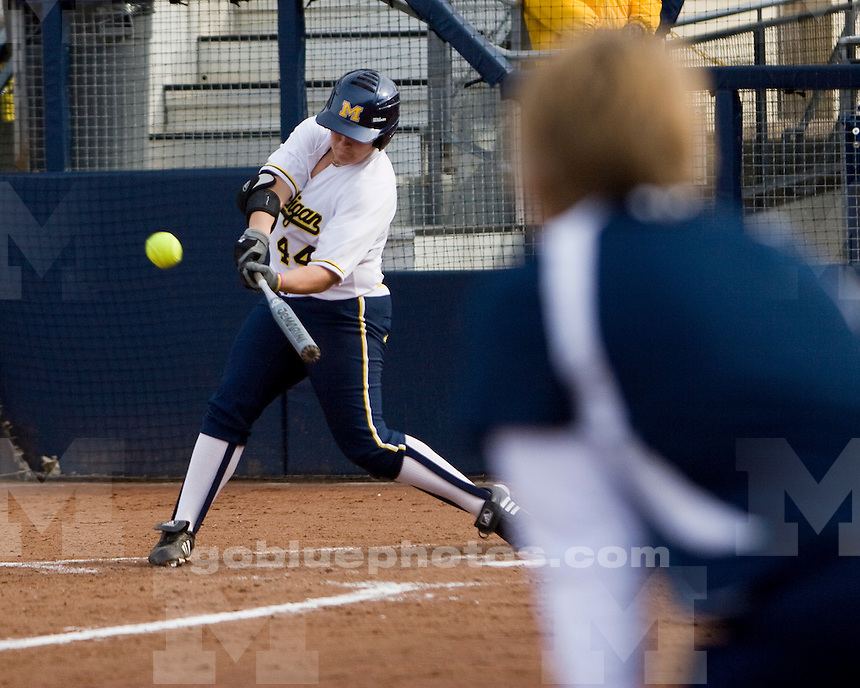 University of Michigan Women's Softball 10-2  victory over Bowling Green State University at Alumni Field  on 3/24/2010.